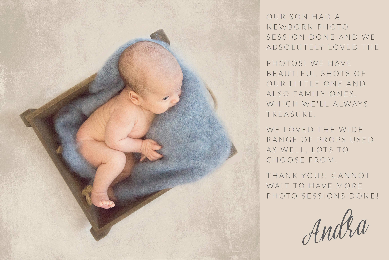 testimonial newborn lifestyle session