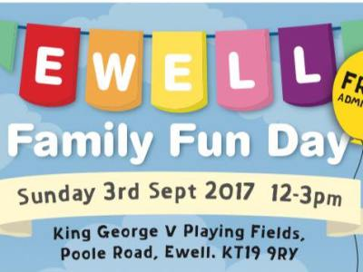 Ewell Family Fun Day – 3 Sept