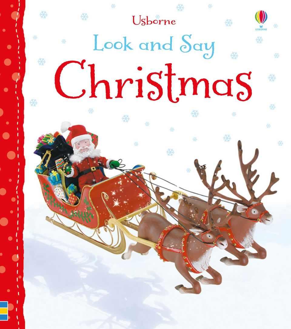 Look & Say Christmas Usborne Books