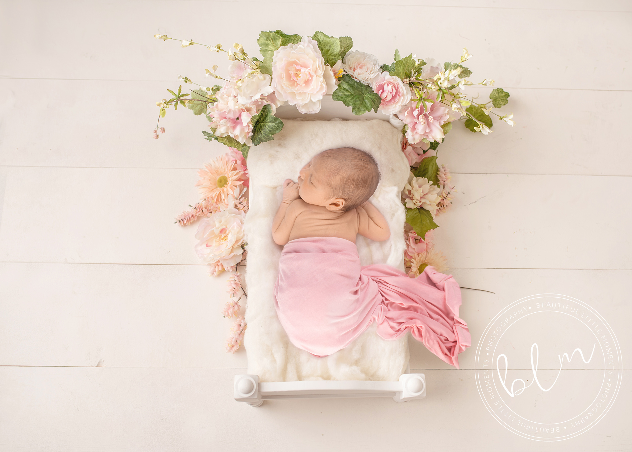 posed-newborn-studio-session-flowers-bed-baby-photography-epsom-surrey