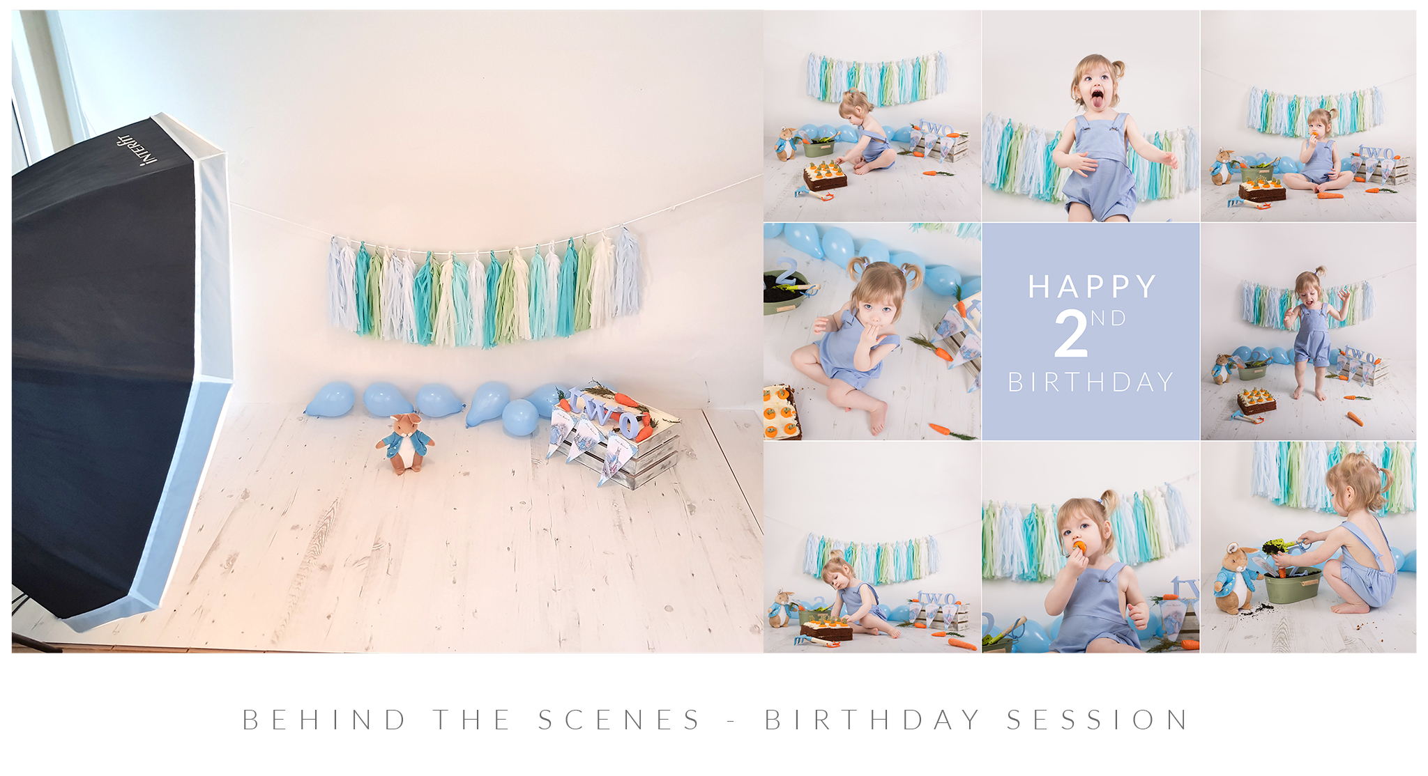 behind the scenes birthday session epsom