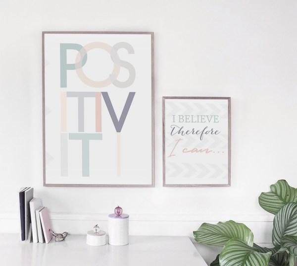 Positivity Print