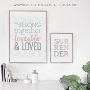 belong together print