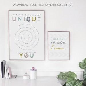 unique & amazing print