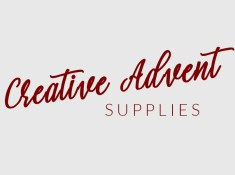 Creative advent supplies