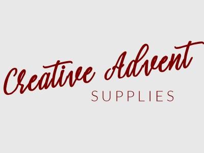 Creative advent supplies