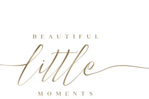 beautiful little moments baby photography logo