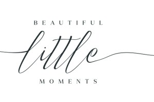 beautiful little moments baby photography logo logo
