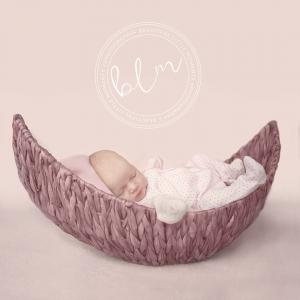 Pink moon basket