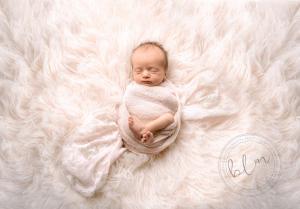 newborn-baby-girl-white-wrap-epsom-surrey