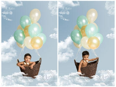 first-birthday-shoot-epsom-balloons