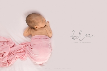 newborn-baby-photos-epsom-surrey-girl-pink-white