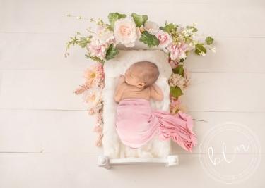 posed-newborn-studio-session-flowers-bed-baby-photography-epsom-surrey
