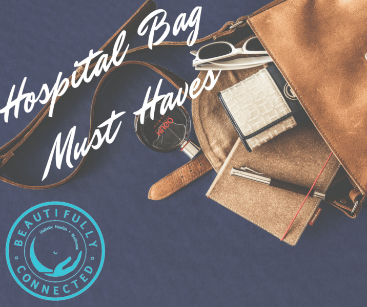 Here are our top picks for your hospital GO bag! More at Beautifully Connected