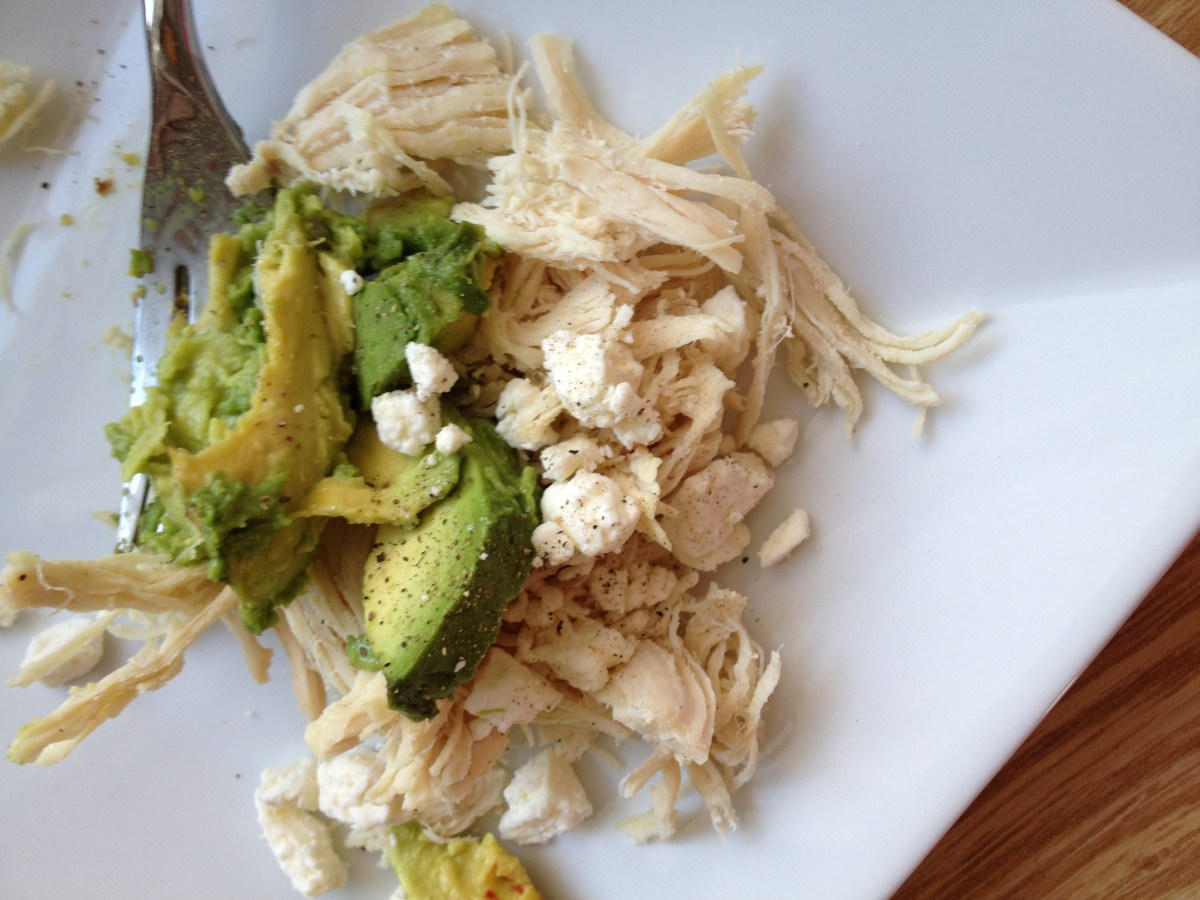 chicken avocado feta cheese