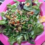 Lentil Fajita Salad