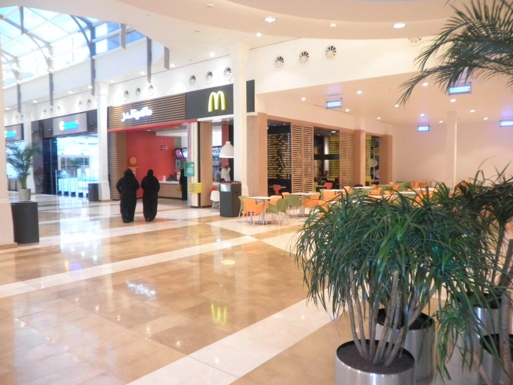 food court in salalah gardens mall salalah