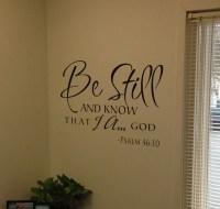 Be Still Scripture