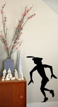 Peter Pans Sneaky Shadow - Beautiful Wall Decals