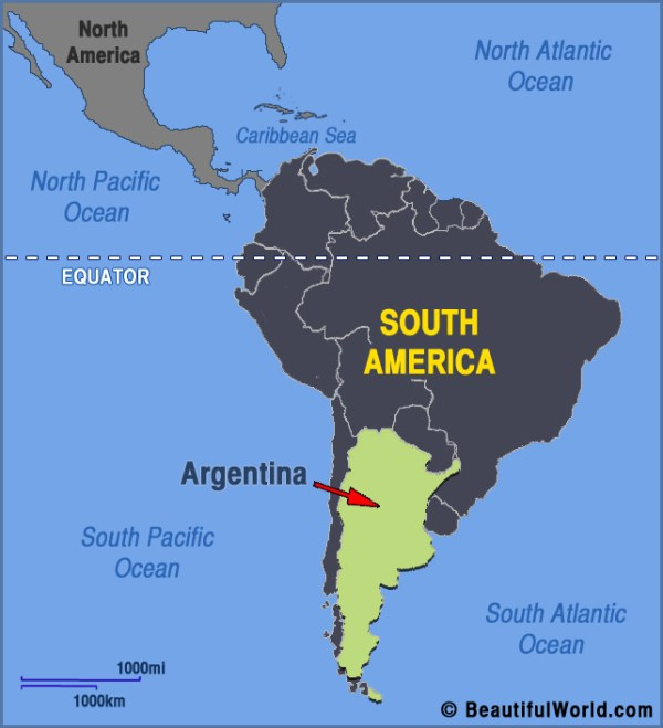 Map of Argentina Facts Information Beautiful World