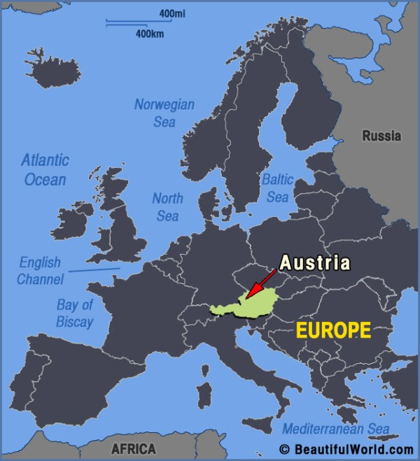 Map of Austria Facts amp Information Beautiful World