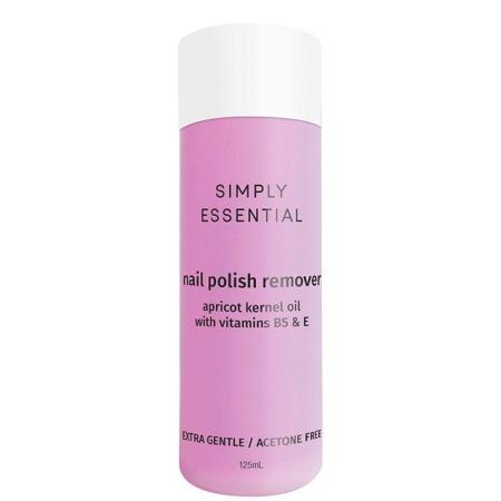 Simply Essential Nail Polish Remover Extra Gentle 125ml - Acetone Free