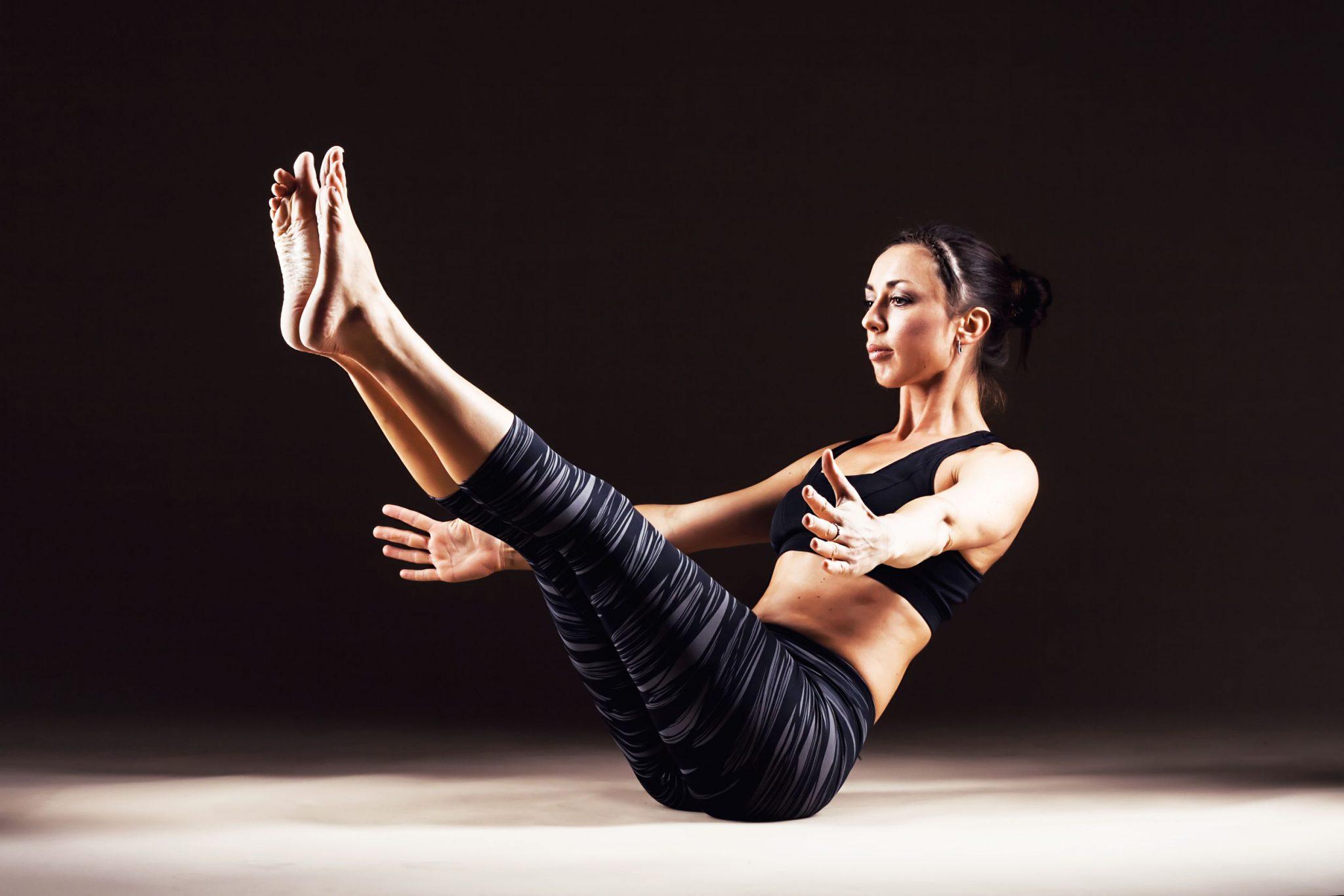 Yoga Pose – The Boat