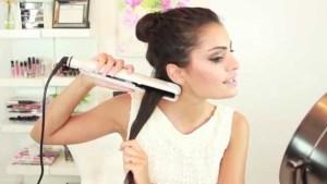 Hair straightening technique