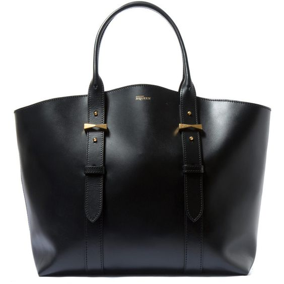 A Black Leather Bag