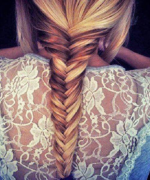 The french fishtail braid hairstyle