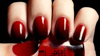 Dark-Ombre-Nail-Art-Design