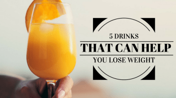 5 drinks to lose weight