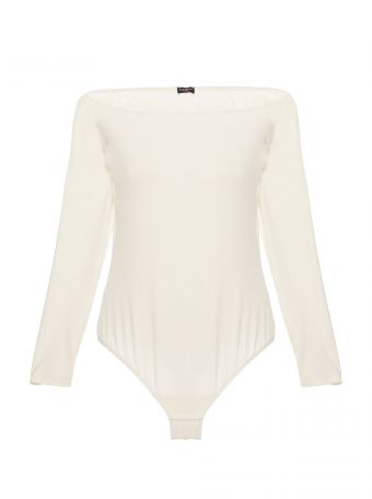 Minimalista Off The Shoulder Bodysuit