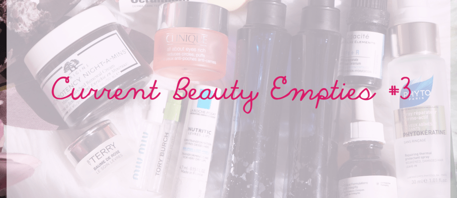 Current Empties #3