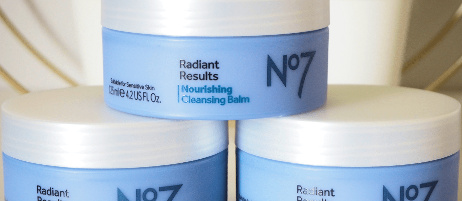 Boots No7 Radiant Results Nourishing Cleansing Balm | Dry Skin