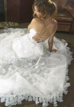 Une décoration de mariage sur le thème des papillons