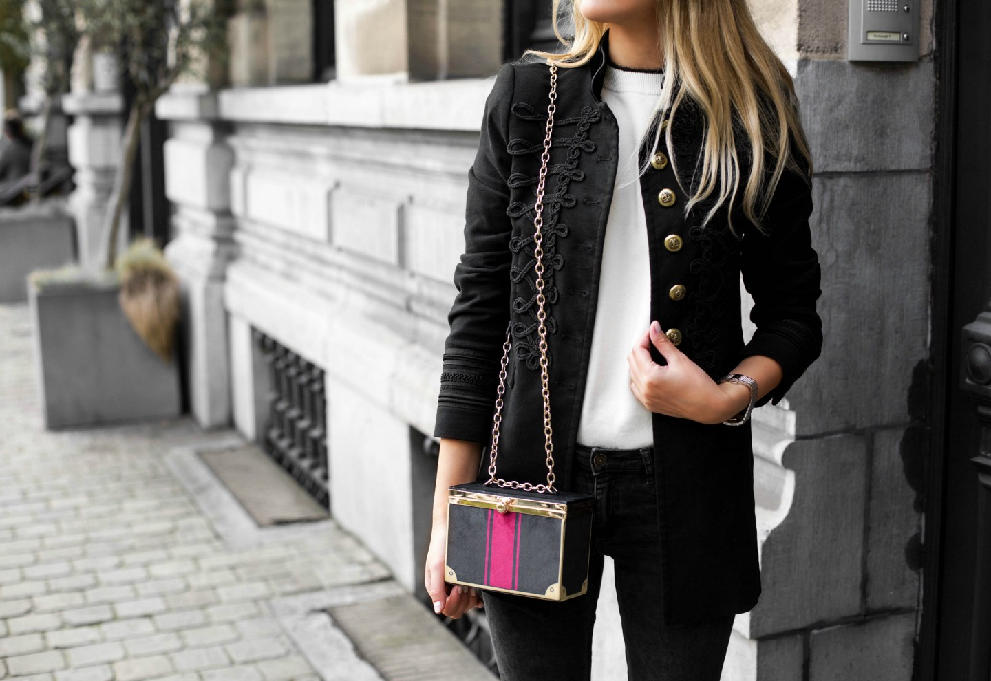 Make it monochrome - Outfit of the day