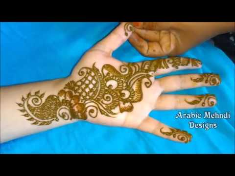 Mehndi Design Arabic Easy