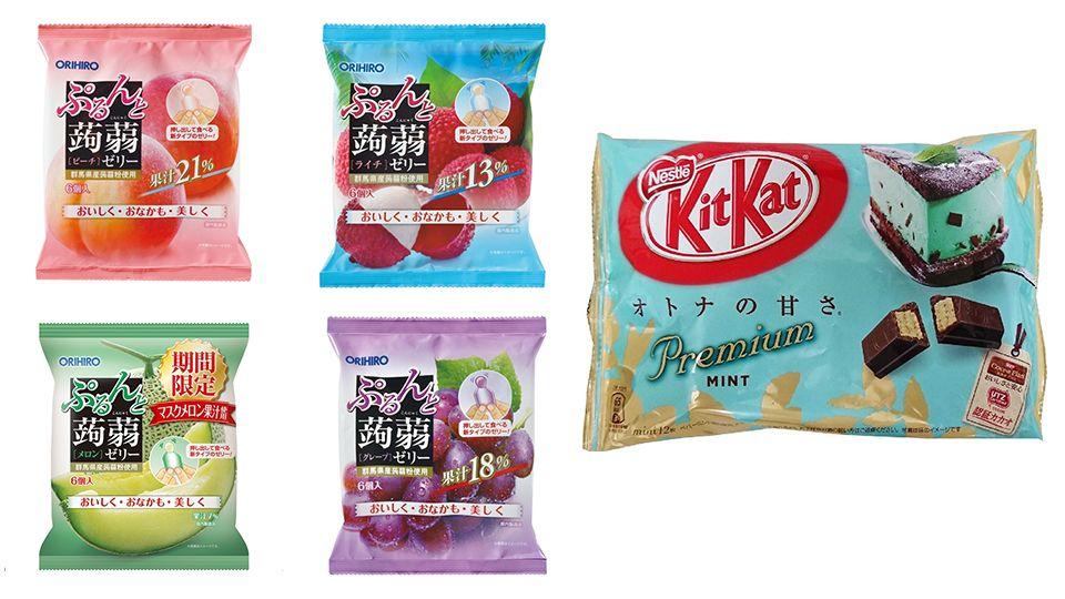 2018 mognavi日本零食大賞,都是每個月會消耗的消耗品,你吃過幾樣? 同場加映旅日超夯必買零食