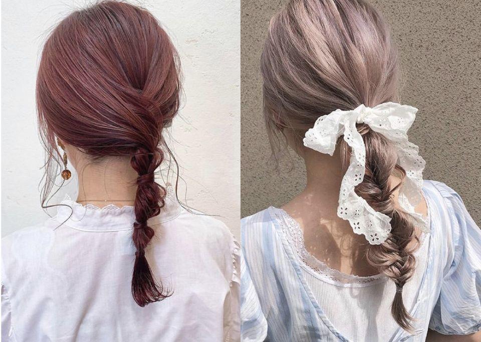 五款「中長髮」編髮造型範本,初學者也能輕鬆駕馭,讓你的過渡期短髮簡單又有型!