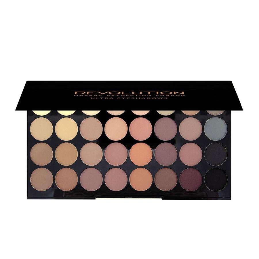 Makeup Revolution Ultra 32 Eyeshadow Palette Flawless MATTE