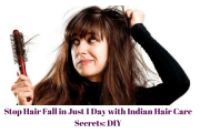 stop hair fall in 1 day