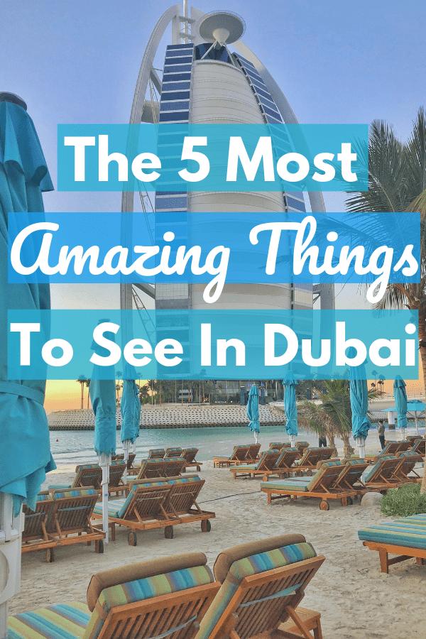 Dubai Travel Guide Beauty and Colour