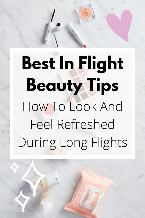 Best Cruelty Free Long Flight Beauty Tips