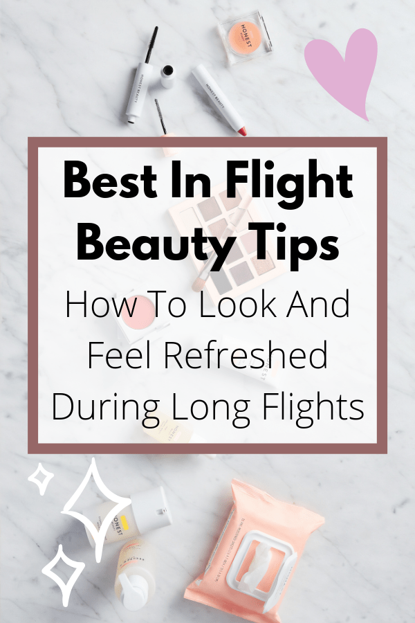 Best Cruelty Free Long Flight Beauty Tips