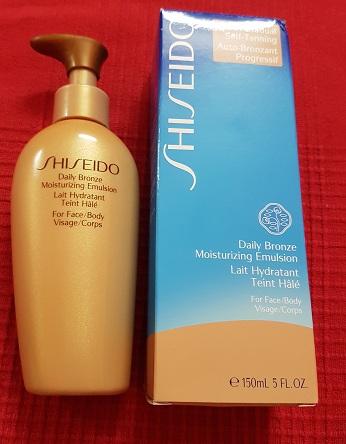 shiseido bronze emulsion review