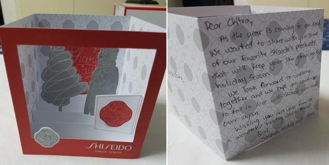 shiseido giveaway