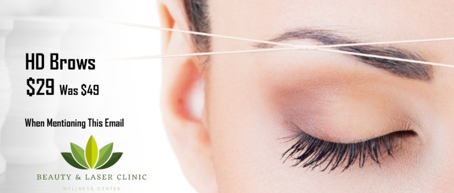 Brows at Beauty and Laser CLinic Manly