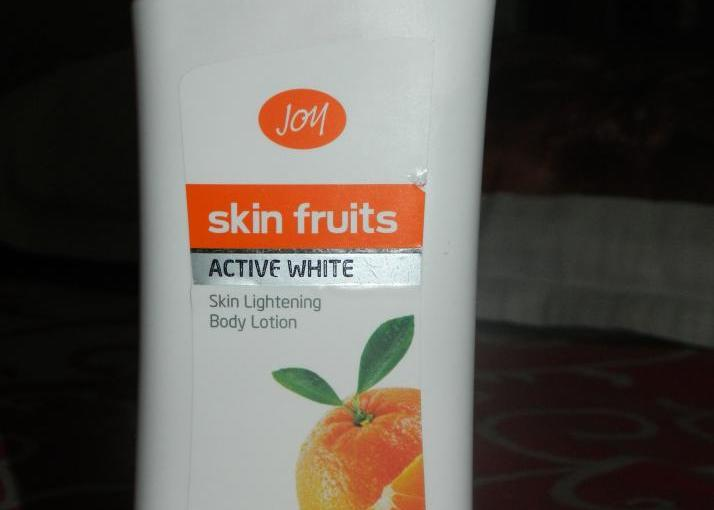 Joy Active White Skin Lightening Body Lotion- Review