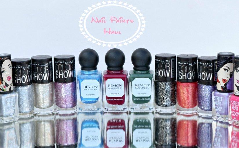 New In- Nail Paints (Maybelline, Revlon, Streetwear)